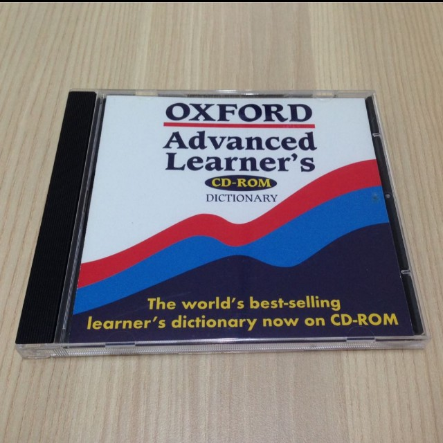 Oxford advance learner dictionary CDRom #SpringClean60