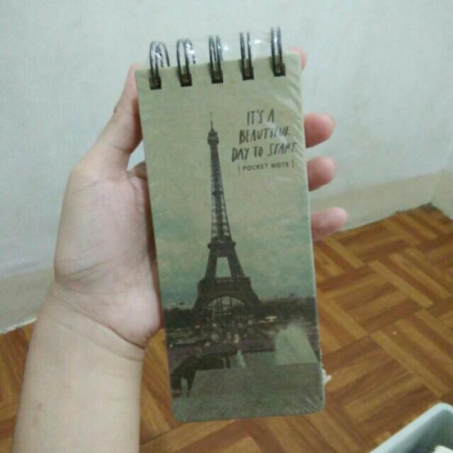 Paris Pocket Notebook
