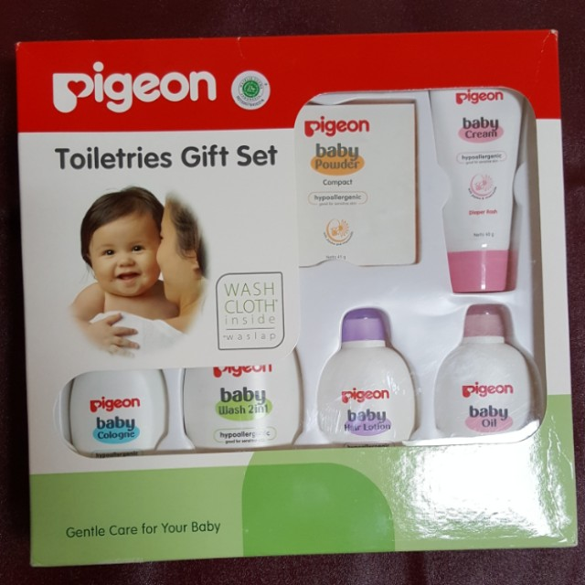 Pigeon baby toiletries set