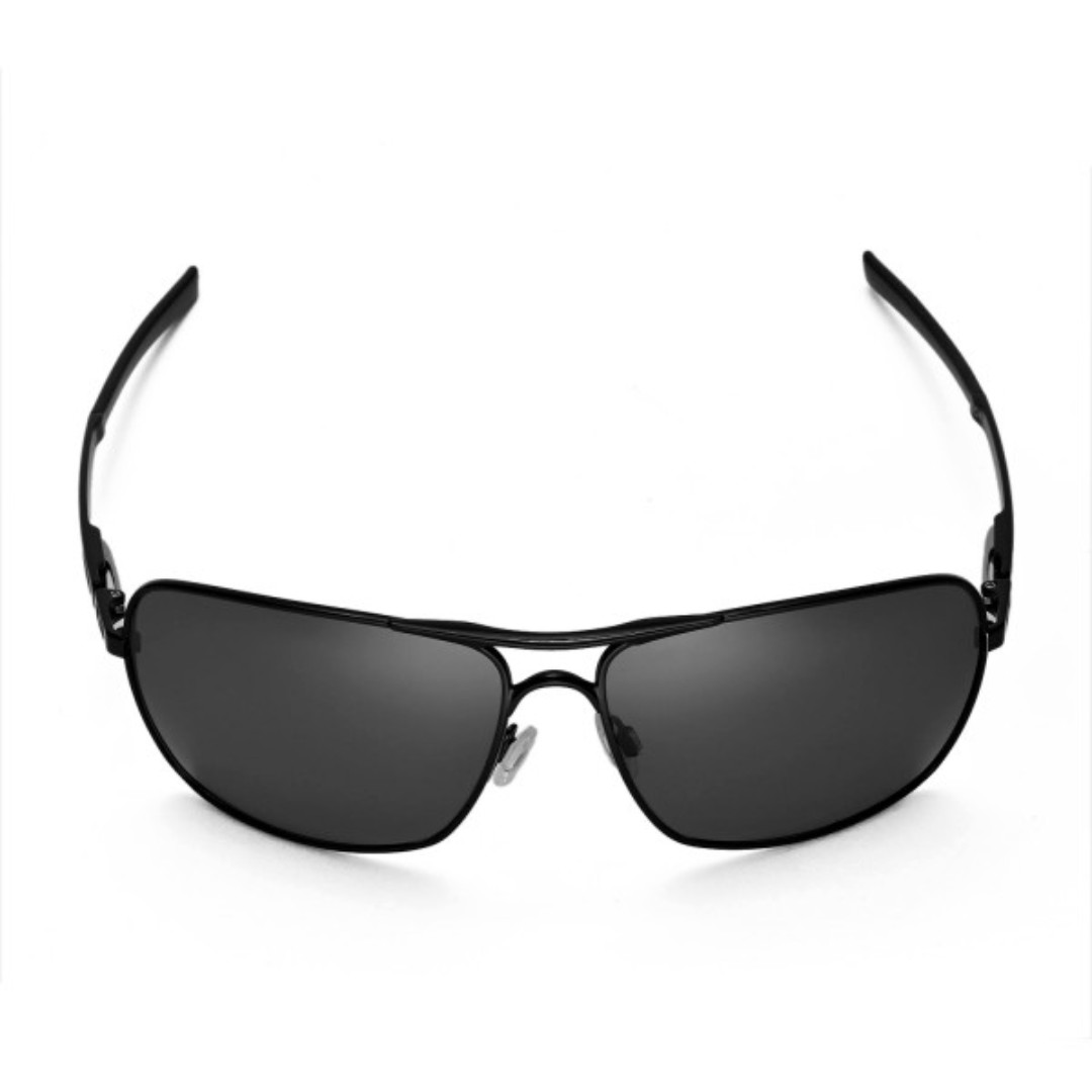 be00a6f8b Plaintiff Squared Black POLARIZED Walleva Replacement Lenses for Oakley  Plaintiff Squared Sunglasses, Men's Fashion, Accessories on Carousell
