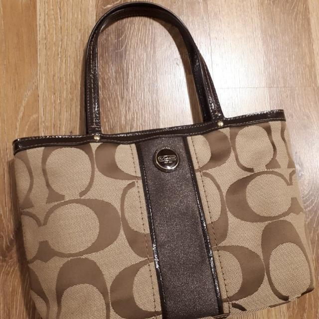 Preloved Authentic Coach bag small