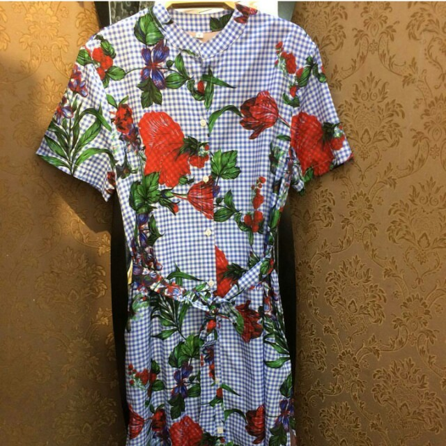 D&G inspired Printed dress Large