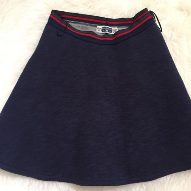 Pull & Bear Skirt (navy)