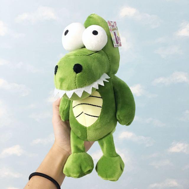 暴牙Q版鱷魚玩偶
