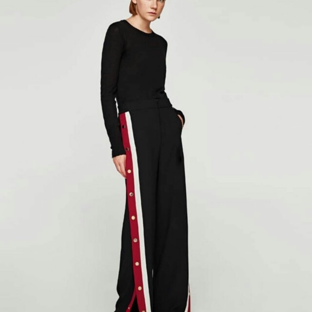 Replika zara trousers stripe woman