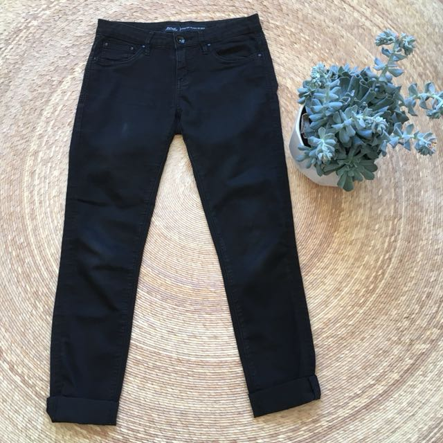 Riders Super Skinny Black Jeans