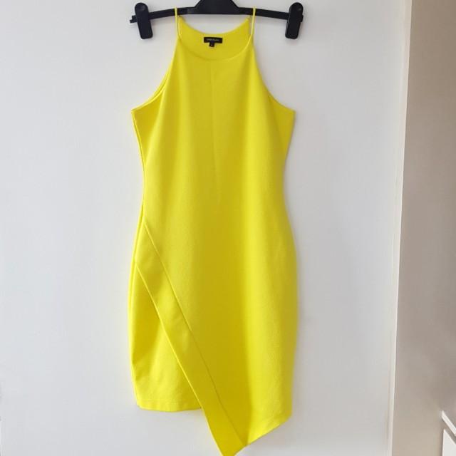 River Island Yellow Bodycon Dress
