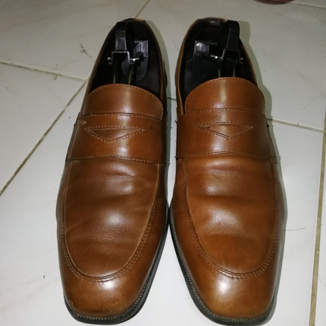 Rockport brown loafers size US 9