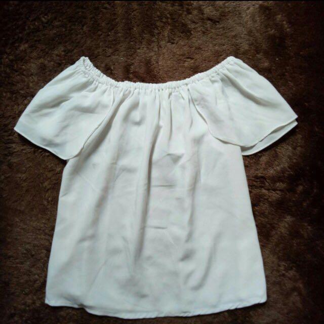 sabrina white blouse
