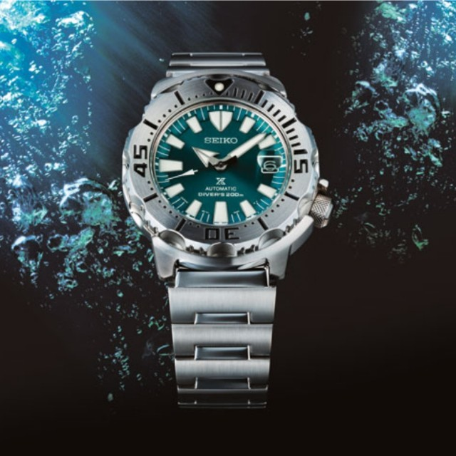Seiko monster limited edition divers automatic watch srp455k1 srp455.