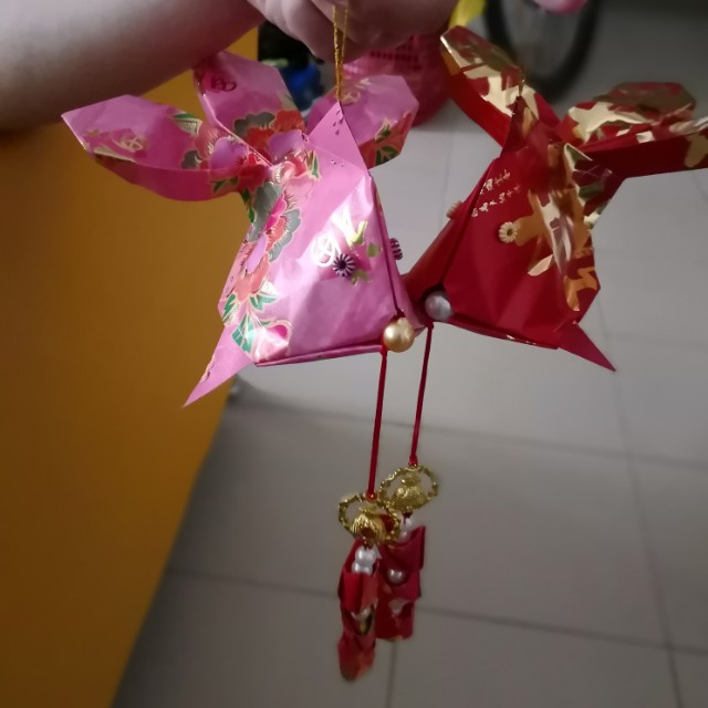 Selling This Two Chinese New Year Origami Fish Design Craft
