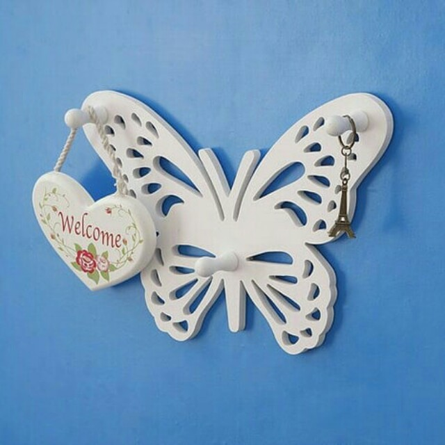 Simple Butterfly Hanger Rack Decorative