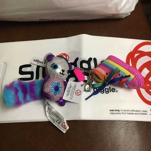 Smiggle Keychain or pang-bag hihi Scented