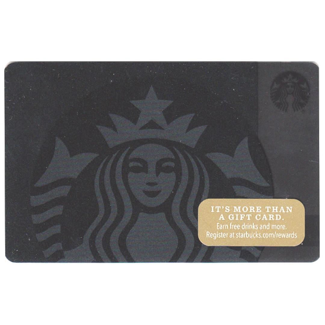 🆕Starbucks® 🇲🇾 Siren On Black Card