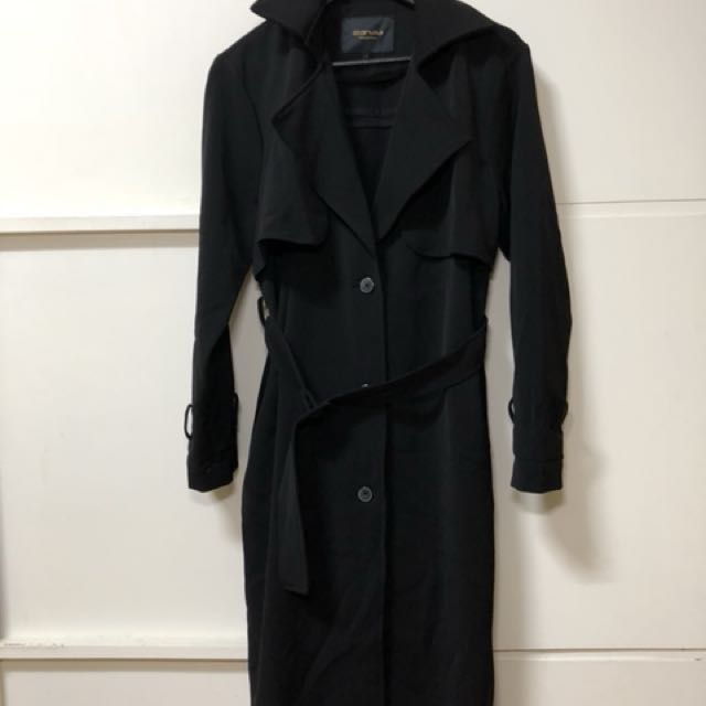 starmimi 長版厚風衣外套 年前降價!