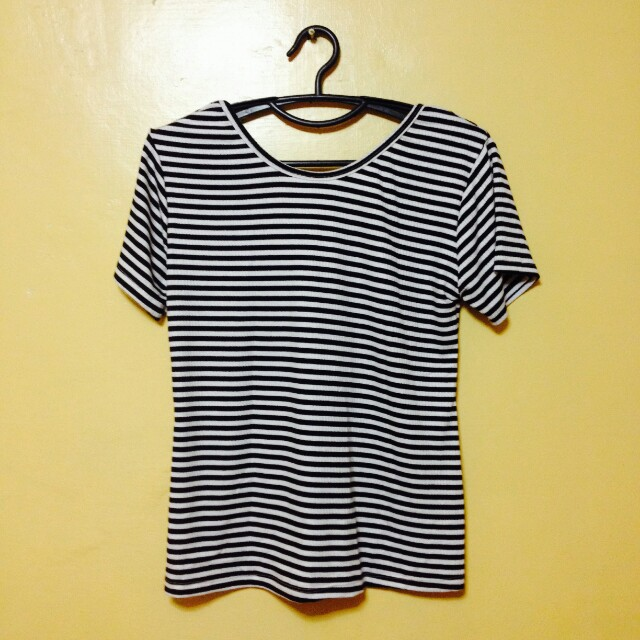 Stripe lowback Shirt (Bnew with tag)