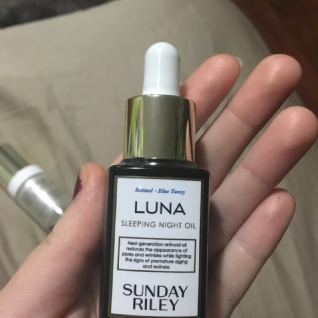 SUNDAY RILEY LUNA OIL price not negotiable