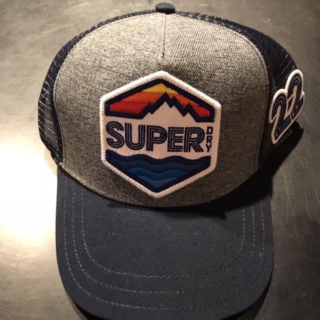 極度乾燥superdry網帽