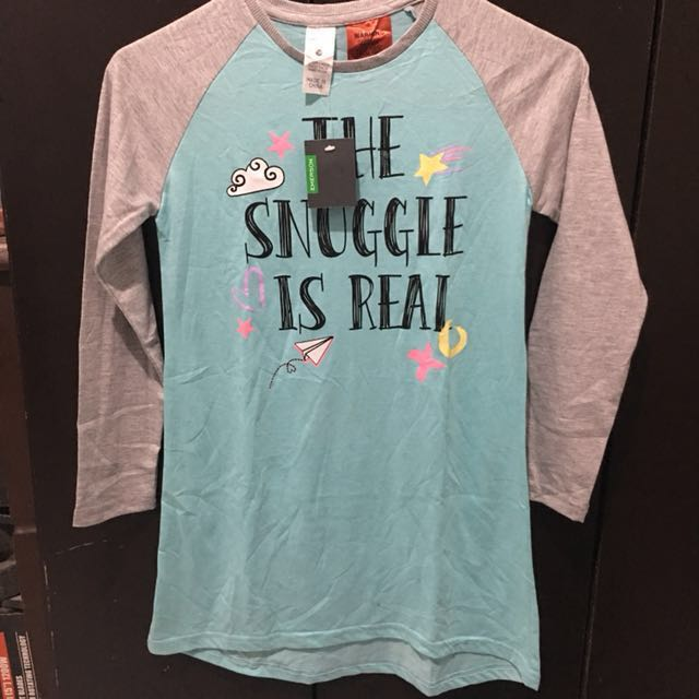 'The Snuggle is Real' Girls Long Sleeved Dress