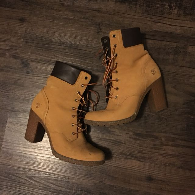 Timberland High Heel Ankle Boots