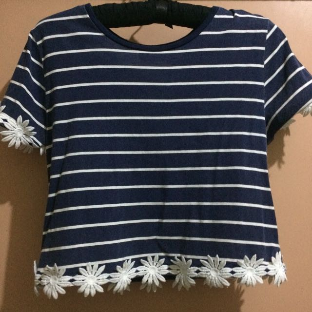 Topshop striped top