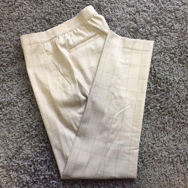 UNIQLO Cropped Business Pant