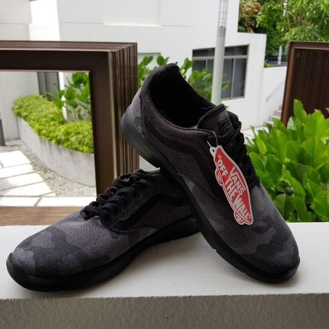 Vans shoes / sneakers - Grey camouflage