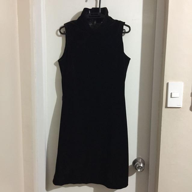 Velvet dress small to medium