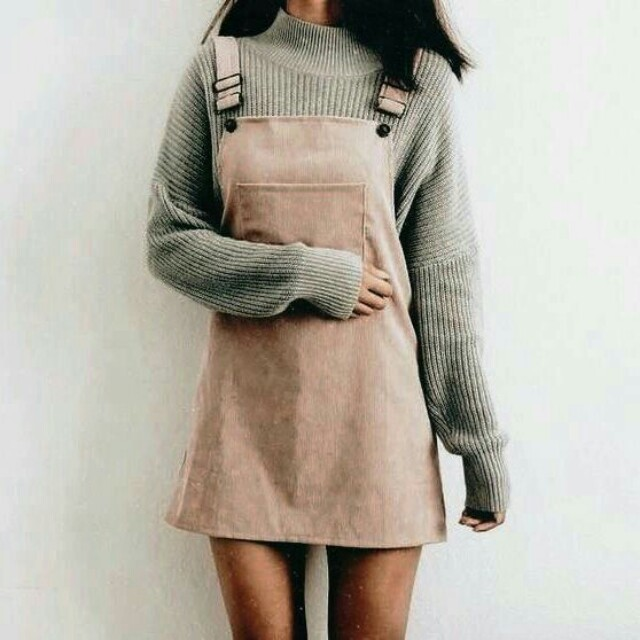 Womens overall dress  korean style  fit 8 10