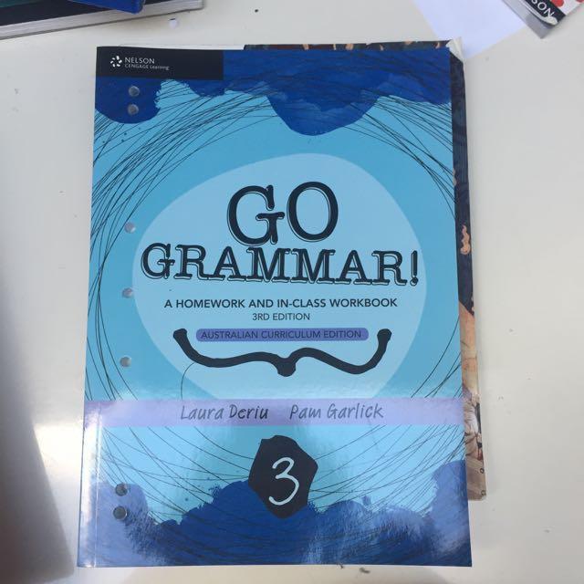 Year 8 Grammar Book
