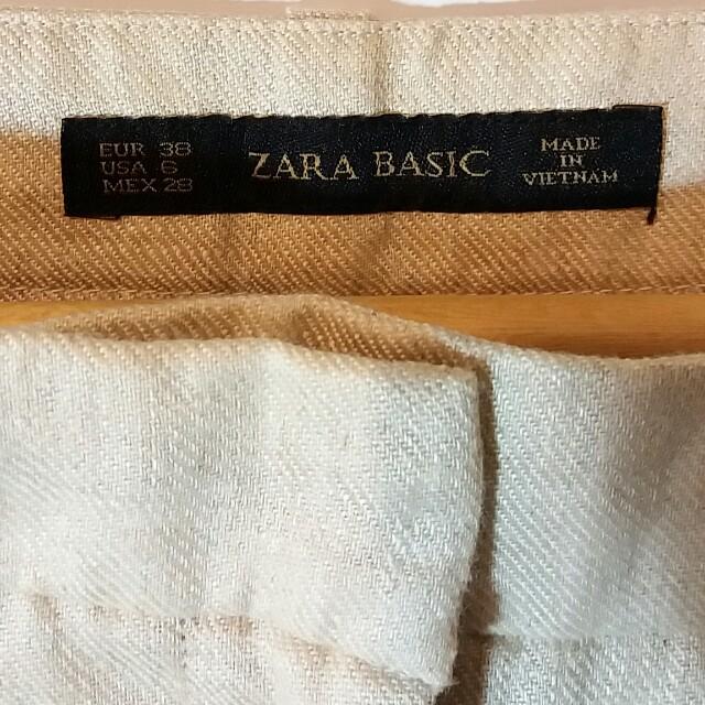 Zara Basic Linen Pants BNWOT