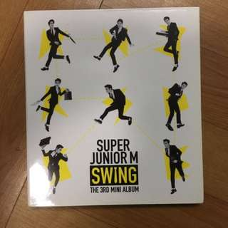 super junior m Swing專輯