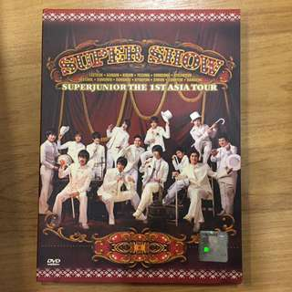 Super Junior Super Show 1 DVD