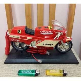 KAWASAKI NINJA CARRIGA Telephone Dekstop MotoGP Vintage