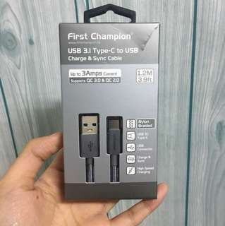 Type C to Usb cable