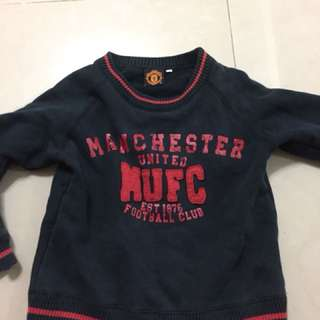 VTG MUFC SWEATER TODDLER