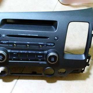 Honda Civic FD Original Audio Player 6 CD Changer