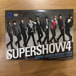 Super Junior Super Show 4 DVD