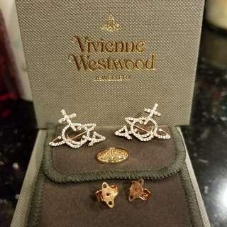 全新Vivienne Westwood 耳環