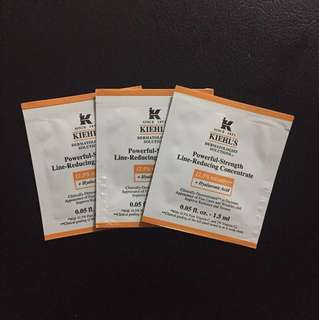 Kiehl's powerful strength line reducing concentrate 1.5ml