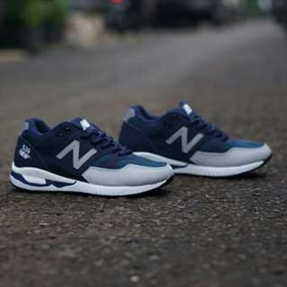 New Balance 530 Encap Navy Grey Pattern