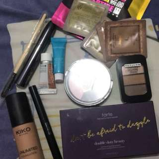 Take all for 2,500 ( Tarte, Kiko Milano, Ulta, Etc)