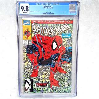 Marvel Comics CGC 9.8 Spider-Man 1 Todd McFarlane Art and Story