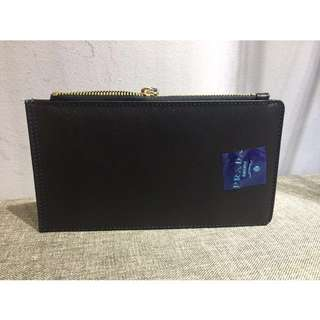 Prada long wallet with card holder
