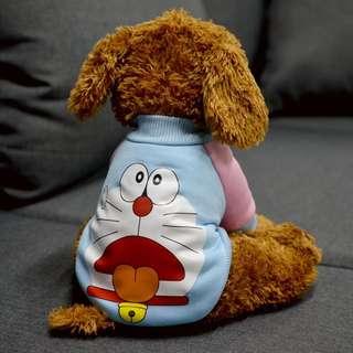 Doraemon Pet Dog Cat Shirt