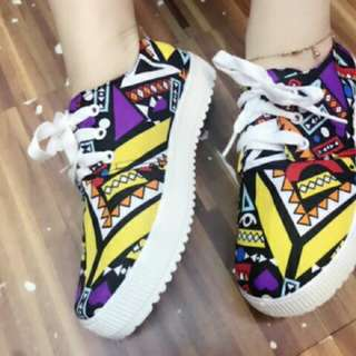 Astec White lace shoes