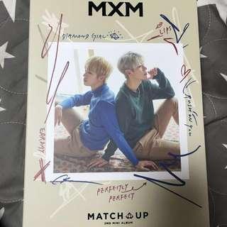 MxM 全新迷你2輯 match up M.ver X.ver