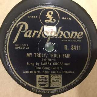 Vintage Gramophone Record