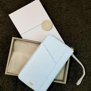 【超平.送禮.自用】北歐名牌Kikki.K北歐簡約風設計 leather travel wallet