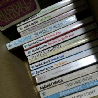 Part 1 Agatha Christie murder crime books whodunit